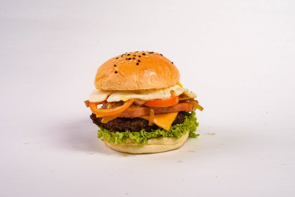 The Ultimate Beast Burger Image